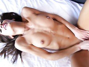 Big Cumshot In The Mouth Of Pornstar Chloe Amour