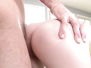 Tight Teenage Girl Loves A Big Cock Inside Her