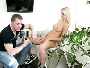 New Model And The Casting Agent Have Really Hot Sex