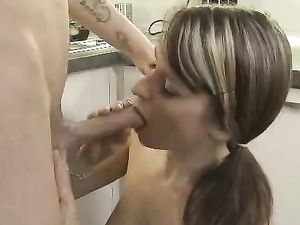 Tasty Tits And Pussy On His Horny Teen Girlfriend