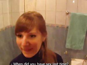Hot Bathtub Fucking And Sucking With A Cute Teen
