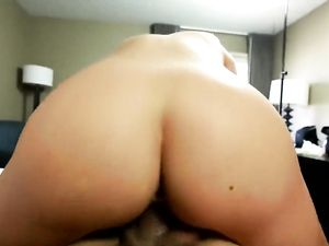 Doggy style ramming ends with cumming