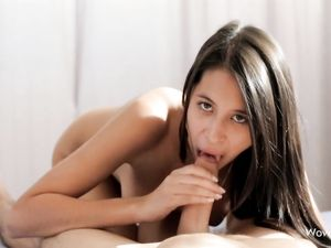 Fucking The Hot Teen Babe With Perfect Big Tits
