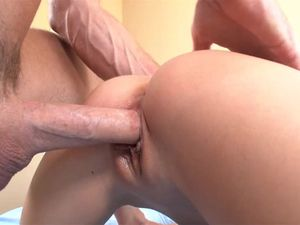 Cute Brunette Fingers Herself And Gets Fucked Hard