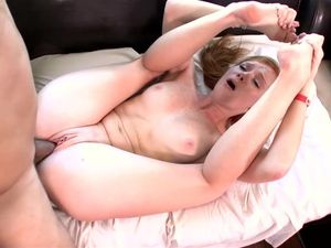 Cute Teen Redhead With Freckles Loves His Big Cock