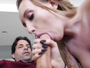 Satin Panties On The Babysitter Seduce Him Into Sex
