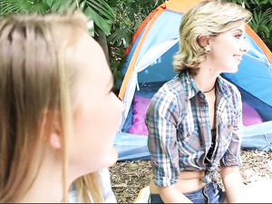 Fucking Teen Camping Hotties Out In The Woods