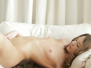 Teen Puts A Hand Down Her Panties And Masturbates